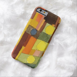 Paul Klee In The Style Of Kairouan Watercolor Art Barely There iPhone 6 Case