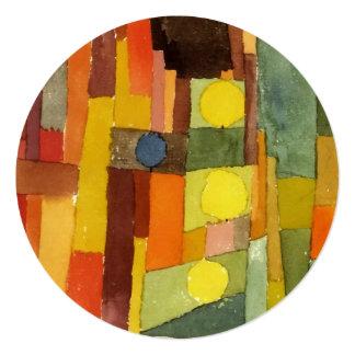 Paul Klee In The Style Of Kairouan Watercolor Art Card