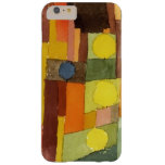 Paul Klee In The Style Of Kairouan Watercolor Art Barely There iPhone 6 Plus Case