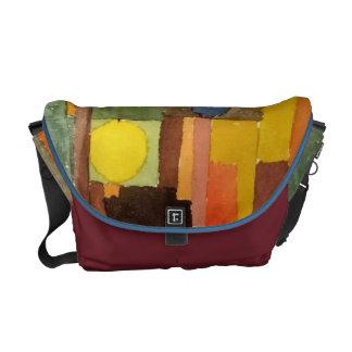 Paul Klee In The Style Of Kairouan Watercolor Art Messenger Bag