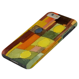 Paul Klee In The Style Of Kairouan Watercolor Art Tough iPhone 6 Plus Case
