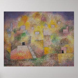 Paul Klee Jard In Oriental Poster