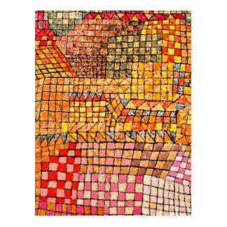 Paul Klee - Kr. del castillo de la ciudad Postales