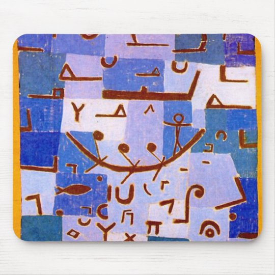 Paul Klee - Legend of the Nile Mouse Pad