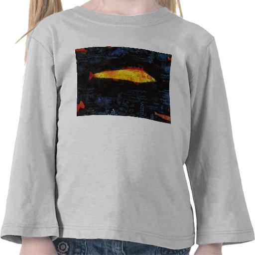 Paul Klee los pescados de oro del oro de los Camiseta