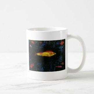 Paul Klee los pescados Goldfisch Fische del oro Taza