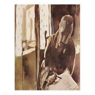 Paul Klee: Los signatarios a la ventana Postal