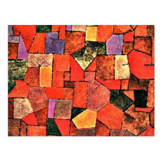 Paul Klee - Mountain Village Postcard