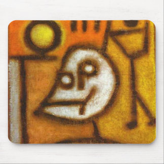 Paul Klee - muerte y fuego Tapetes De Raton