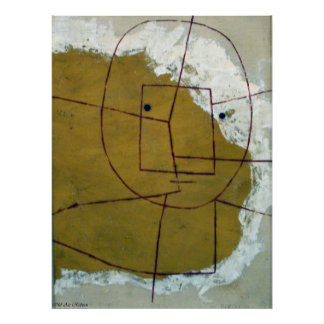 Paul Klee One Who Understands Poster
