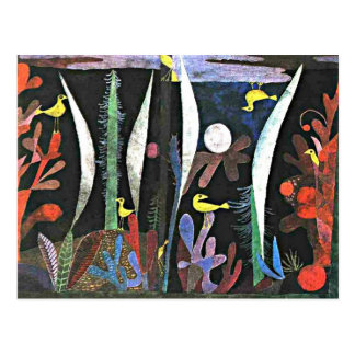 Paul Klee: Paisaje con la pintura amarilla de los Postales