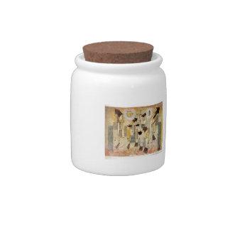 Paul Klee: Pintura de pared del templo del anhelo Plato Para Caramelo