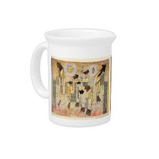 Paul Klee: Pintura de pared del templo del anhelo Jarra De Beber