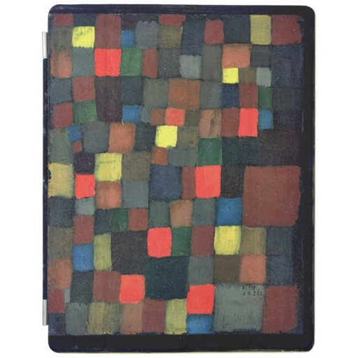 Paul Klee popular art, Abstract Color Harmony iPad Smart Cover