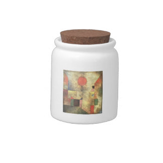Paul Klee: Red Balloon Candy Jars