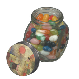 Paul Klee: Red Balloon Glass Candy Jar