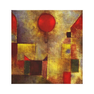 Paul Klee Red Balloon Canvas Wrap