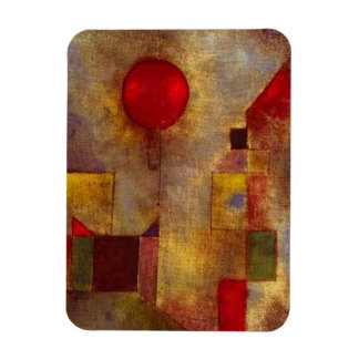 Paul Klee Red Balloon Colorful Abstract Magnet