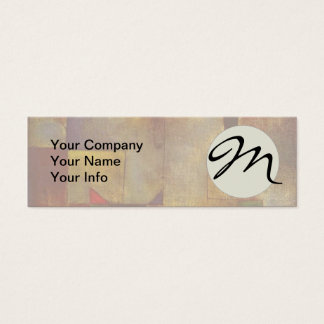 Paul Klee Red Balloon Colorful Abstract Mini Business Card