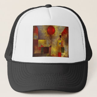 Paul Klee Red Balloon Hat