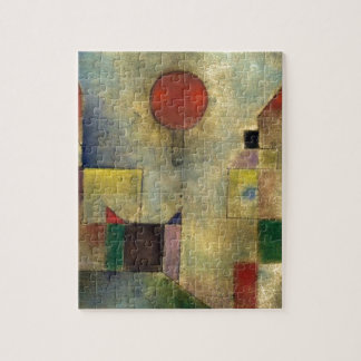 Paul Klee Red Balloon Jigsaw Puzzle