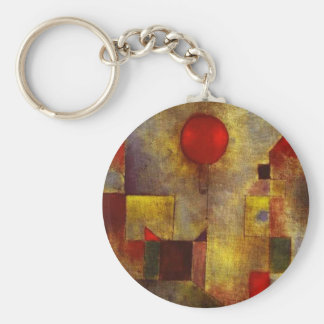Paul Klee Red Balloon Key Chain