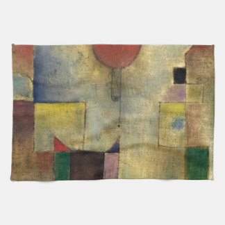 Paul Klee Red Balloon Kitchen Towel