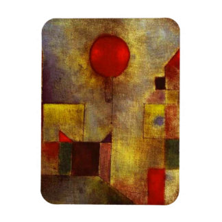 Paul Klee Red Balloon Magnet
