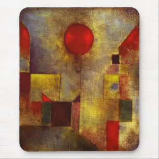 Paul Klee Red Balloon Mouse Pad