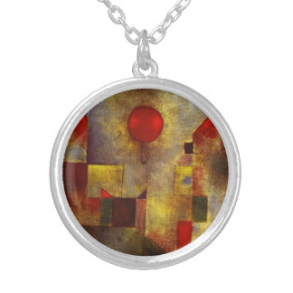 Paul Klee Red Balloon Necklace