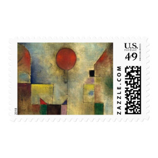 Paul Klee Red Balloon Postage