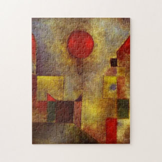Paul Klee Red Balloon Puzzle