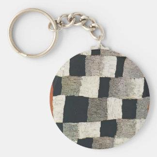 Paul Klee- rítmico (rítmico) Llavero Personalizado