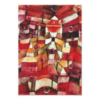 Paul Klee Rose Garden Invitations