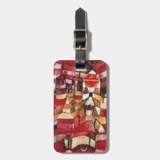 Paul Klee Rose Garden Luggage Tag