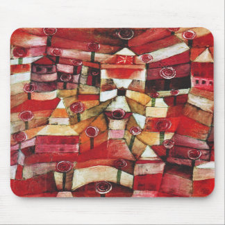 Paul Klee Rose Garden Mouse Pad