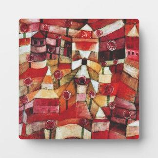 Paul Klee Rose Garden Plaque