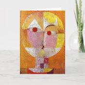 Paul Klee - Senecio card