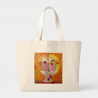 Paul Klee Senecio Painting Large Tote Bag