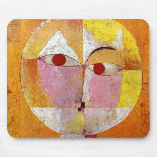 Paul Klee Senecio Painting Mouse Pad