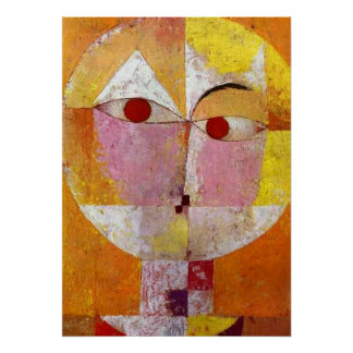 Paul Klee Senecio Painting Poster