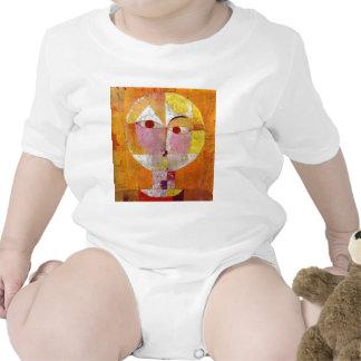 Paul Klee Senecio Painting Baby Bodysuit