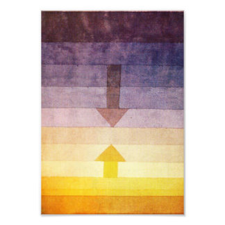 Paul Klee Separation in the Evening Photo Print