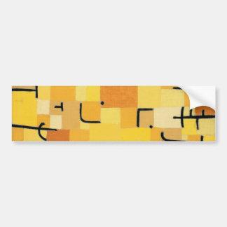 Paul Klee - Signs In Yellow Bumper Sticker