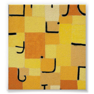 Paul Klee - Signs In Yellow Poster