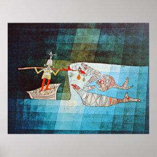 Paul Klee Sinbad el marinero Póster