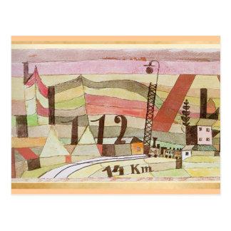 Paul Klee - Station L 112 Postcard