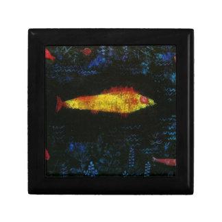 Paul Klee The Goldfish Gold Fish Goldfisch Fische Keepsake Box