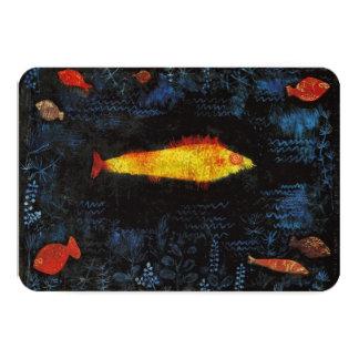Paul Klee The Goldfish Invitations