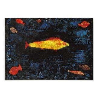Paul Klee The Goldfish Custom Announcement